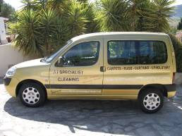 A1 Specialist Cleaning upholstery, leather and oriental rug cleaning specialist Costa Blanca Costa del Sol
