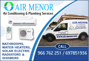Air Conditioning Installations Maintenance, Mar Menor, Costa Calida, Murcia, Spain