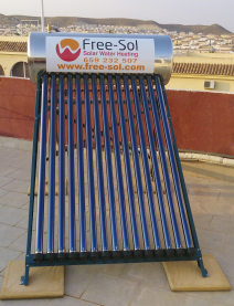 Solar Water Heating and Electricity Murcia Renewable Energy Mazarron Murcia