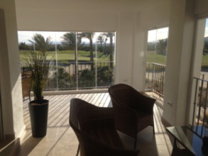 Glass Curtains Mar Menor Murcia Spain Glass Curtains Supply and Fitting for the Golf Resorts, Mar Menor, Murcia